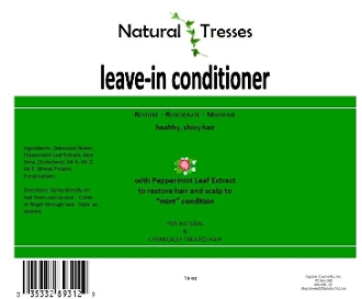 Natural Tresses Leave In Conditioner - 16 oz